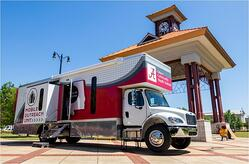 Alabama University mobile COVID-19 screenings