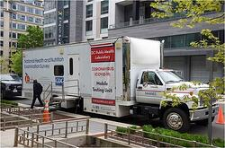 Mobile COVID Testing Unit