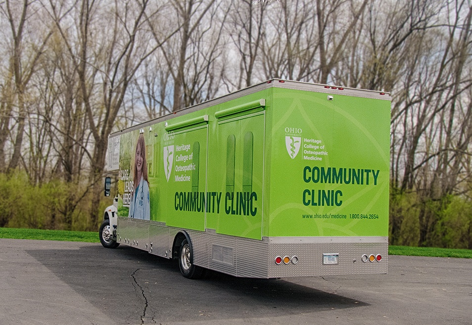 Heritage College Mobile Clinic