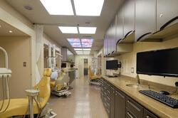 mobile dental clinic interior