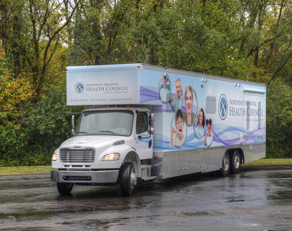 Mobile dental truck