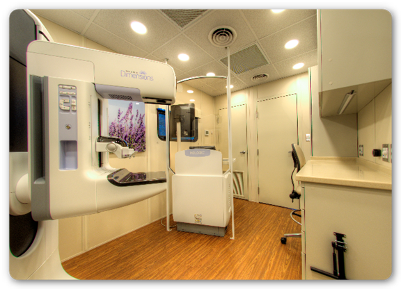 3D tomosynthesis interior mobile unit