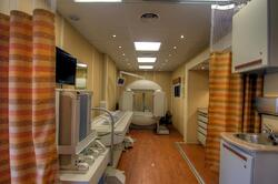 mobile clinic nuclear medicine unit