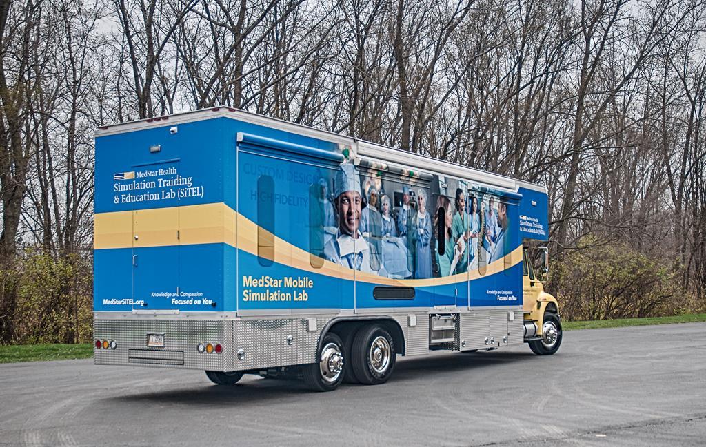 Washington DC SiTEL mobile simulation in healthcare lab