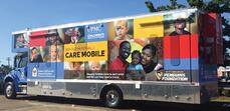 Ronald McDonald mobile health clinic